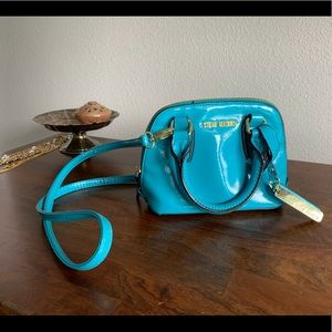 Bright blue Steve Madden small crossbody bag